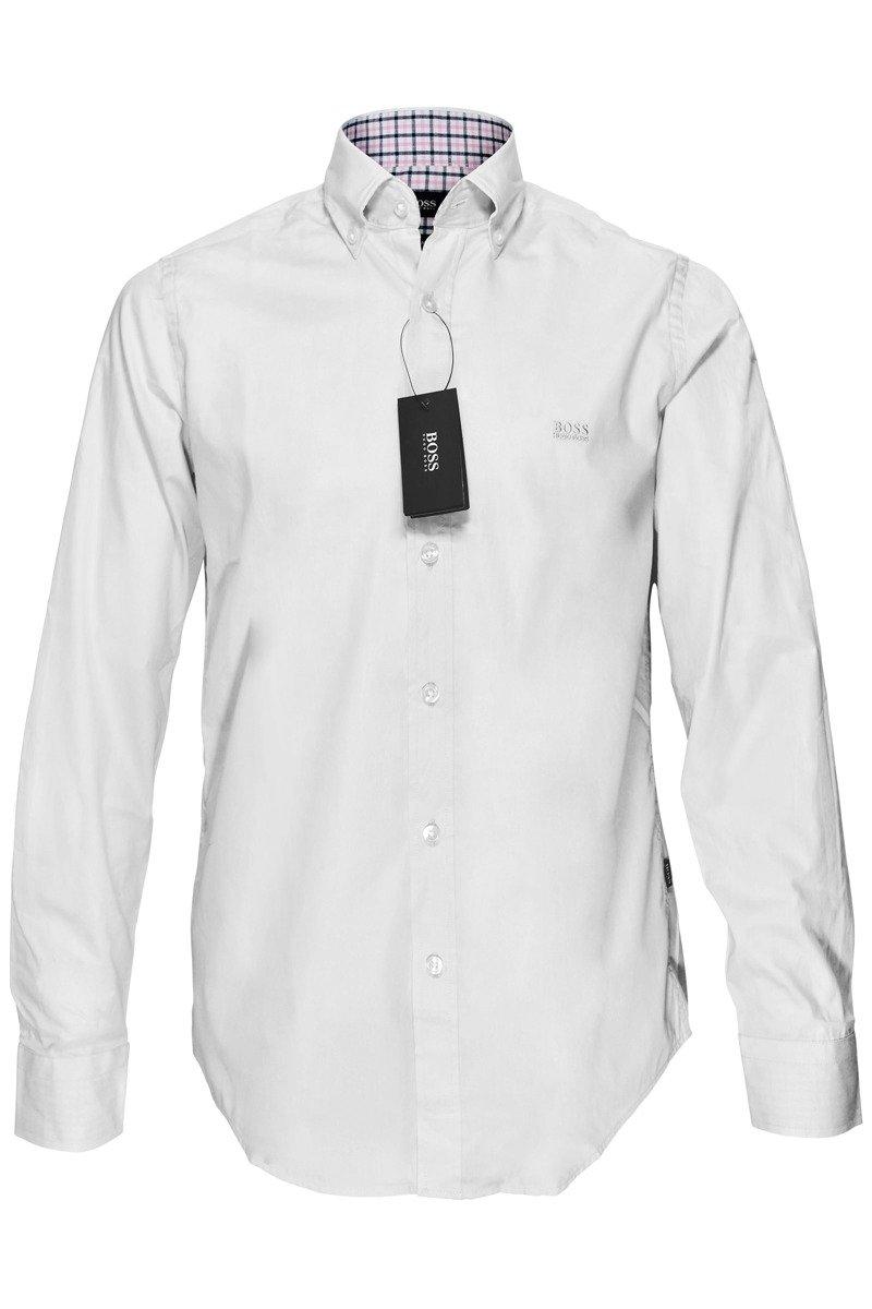 f0c10f2ce HUGO BOSS SHIRT REGULAR FIT LONG SLEEVE WHITE | Kedarfashion.co.uk shop
