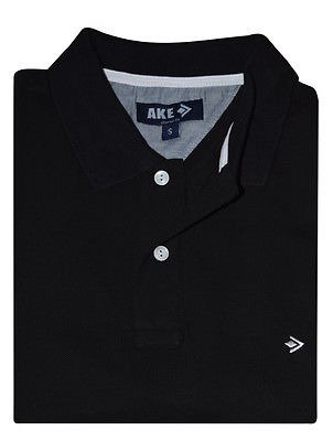 AKE POLO SHIRT BLACK