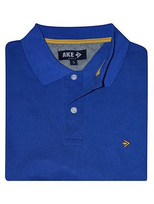 AKE POLO SHIRT ROYAL BLUE