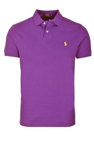 RALPH LAUREN POLO SHIRT PURPLE